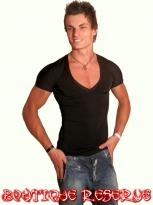Тениска V-Neck