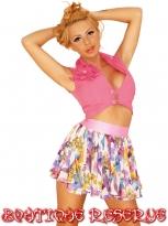 Елек Pink Flower