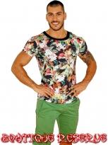 Тениска Flowers
