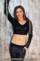 Къса Блуза Leather Sleeves