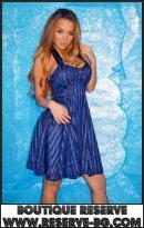 Рокля Romantic Blue Lace