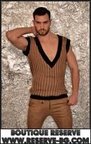 Пуловер Без Ръкави Brown