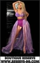 Сценичен Сет Purple Flowers