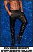 Кожен Панталон Zippers 3